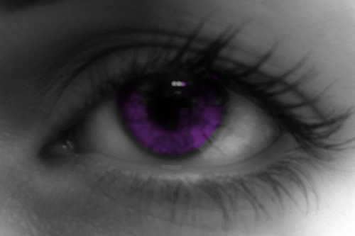 Muh eyeball, but purple :D
