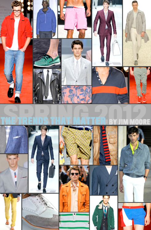 The Spring 2012 Trend Report We present the what, where, and how of spring style (and the best ways to get caught by GQ's man on the street, Tommy Ton).