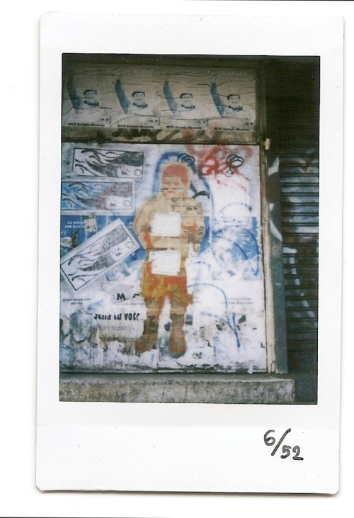 6th Instax! Street Art!