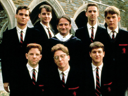 Dead Poets Society. My favorite movie of all time. Truth.