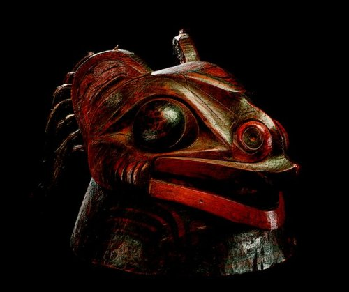 Tlingit War Helmet from the Alaskan Northwest Coast, ca. 1780–1840