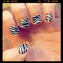 Zebra 💅😜 (Taken with instagram)