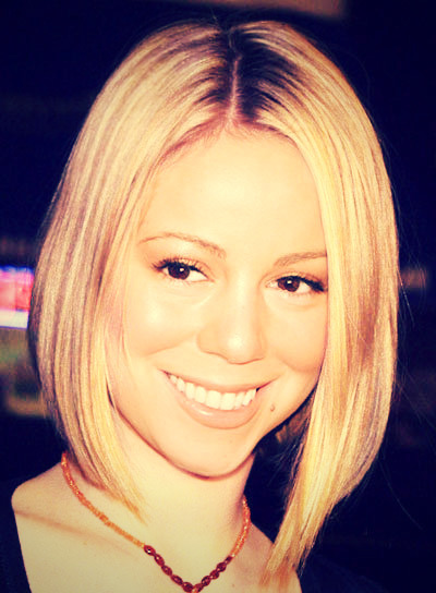 If @mariahcarey had short hair.. Beautiful!! @MCCChile Love This Picture :)