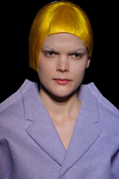 Comme des Garçons / Fall 2012 RTW see the complete runway photos —>http://missbehavecutie.blogspot.com/  What to make of it all? What was Rei Kawakubo trying to say here? Long Nguyen is the co-founder and style director of Flaunt.