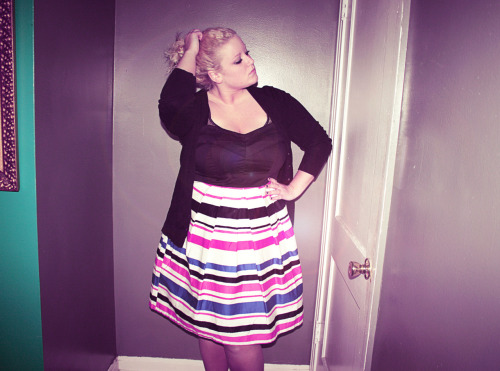 dress -torrid cardigan -asos curve