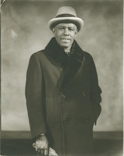 Roland Hayes, the brilliant tenor who became the first African-American man to earn international fame as a concert vocalist, photographed by Addison Scurlock in 1940. Born to former slaves in Curryville, Georgia in 1887, he attended Fisk University and briefly toured with the Fisk Jubilee Singers. Early in his career, he was turned down by talent managers because he was Black so, he invested in himself: He raised money and arranged and financed his own concert performances,which included Negro spirituals, lieder and arias by Schubert, Tchaikovsky, and Mozart. In 1942, Mr. Hayes's wife, Helen and daughter, Afrika, sat in a whites-only area of a shoe store and were thrown out of the store. When Mr. Hayes defended his family, he was beaten and he and his wife were arrested - and the governor of Georgia was absolutely fine with it. The incident inspired Langston Hughes to compose the poem, Roland Hayes Beaten. Mr. Hayes would later teach at Boston University and would go on to celebrate more than 50 years on the concert stage before his death in 1977.