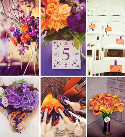 Orange & Purple Inspiration