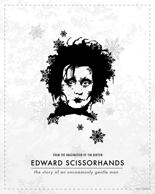 Edward Scissorhands by Katie Crawford