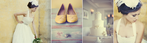 Vintage Yellow Bride