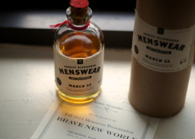 Thanks for the invitation Ernest Alexander. Also loving the Menswear Whiskey. Hope its Jameson.