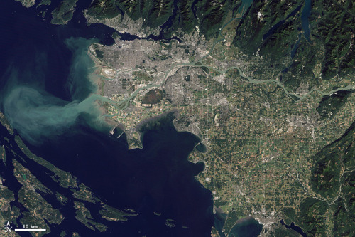 Image #map of Vancouver, Canada via @nasa_eo - #remotesensing