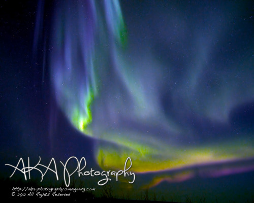 Aurora Borealis 03-12-2012 Cleary Summit, AK