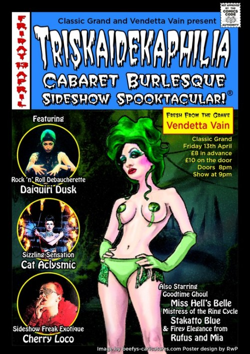Triskaidekaphilia, the best in schlock horror pinup spooktacular!