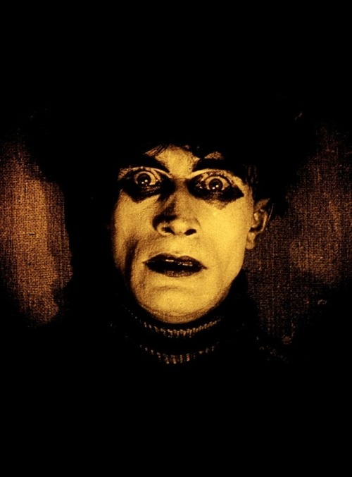 oldhollywood:  Conrad Veidt in The Cabinet Of Dr. Caligari (1920, dir. Robert Wiene) (via)