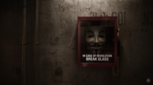 """In case of revolution… Break Glass"""