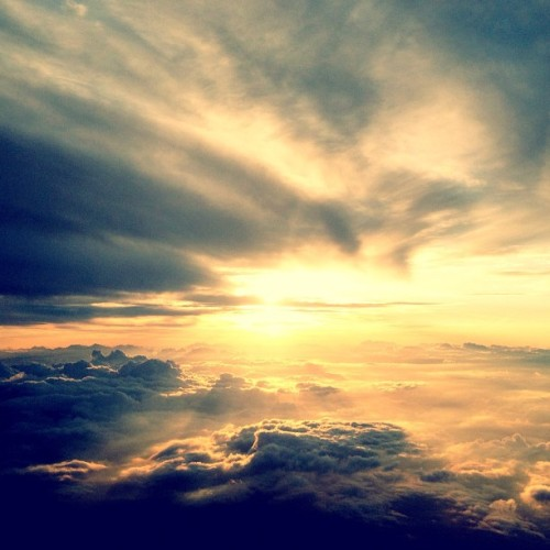 Cielo de Texas. -)- #desdeelaire (Taken with Instagram at AA1118)