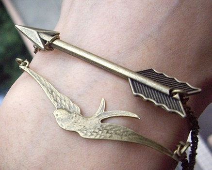 May the odds be ever in your favour! Hunger Games inspired bracelet by Qizhouhuang
