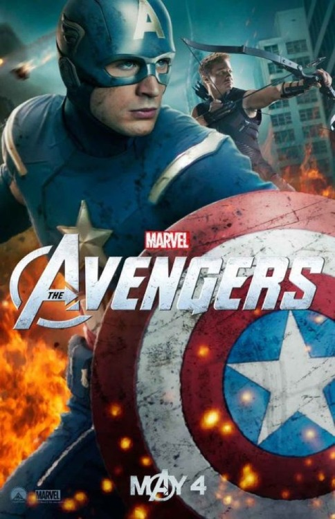New Poster (CAPTAIN AMERICA) The Avengers