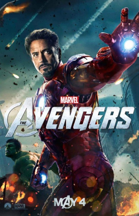 "New Poster (TONY ""IRON MAN"" STARK) The Avengers"