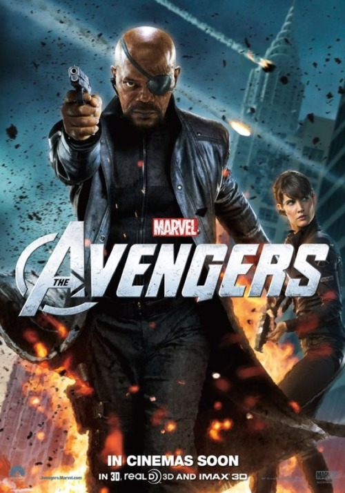 New Poster (NICK FURY and MARIA HILL) The Avengers