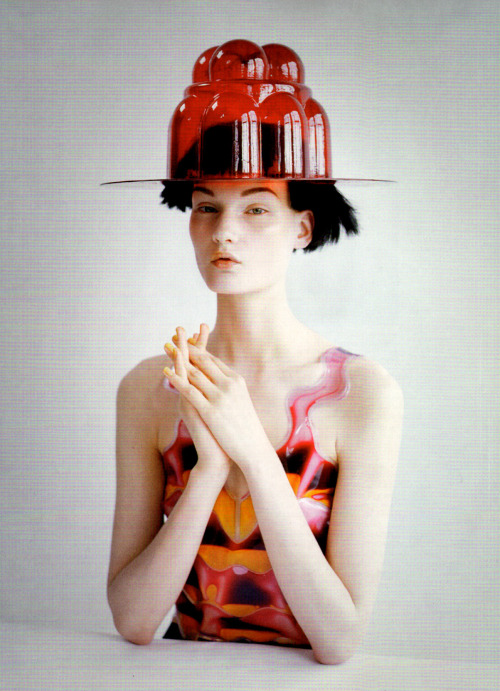 thefashiondontlivewithoutvogue:  Kirsi Pyrhonen by Tim Walker for Vogue US August 2011