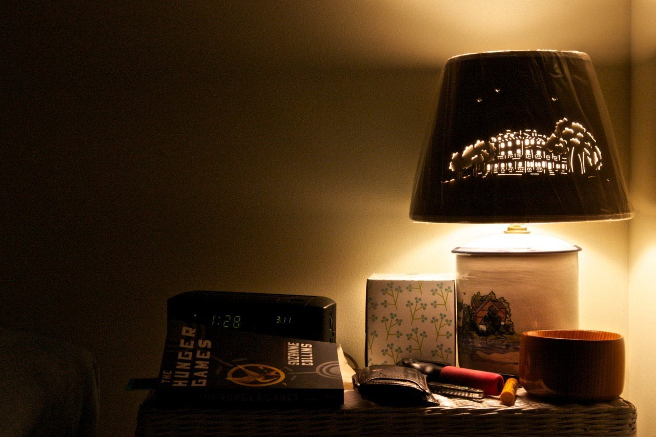 Night stand. Clayton, New York, United States