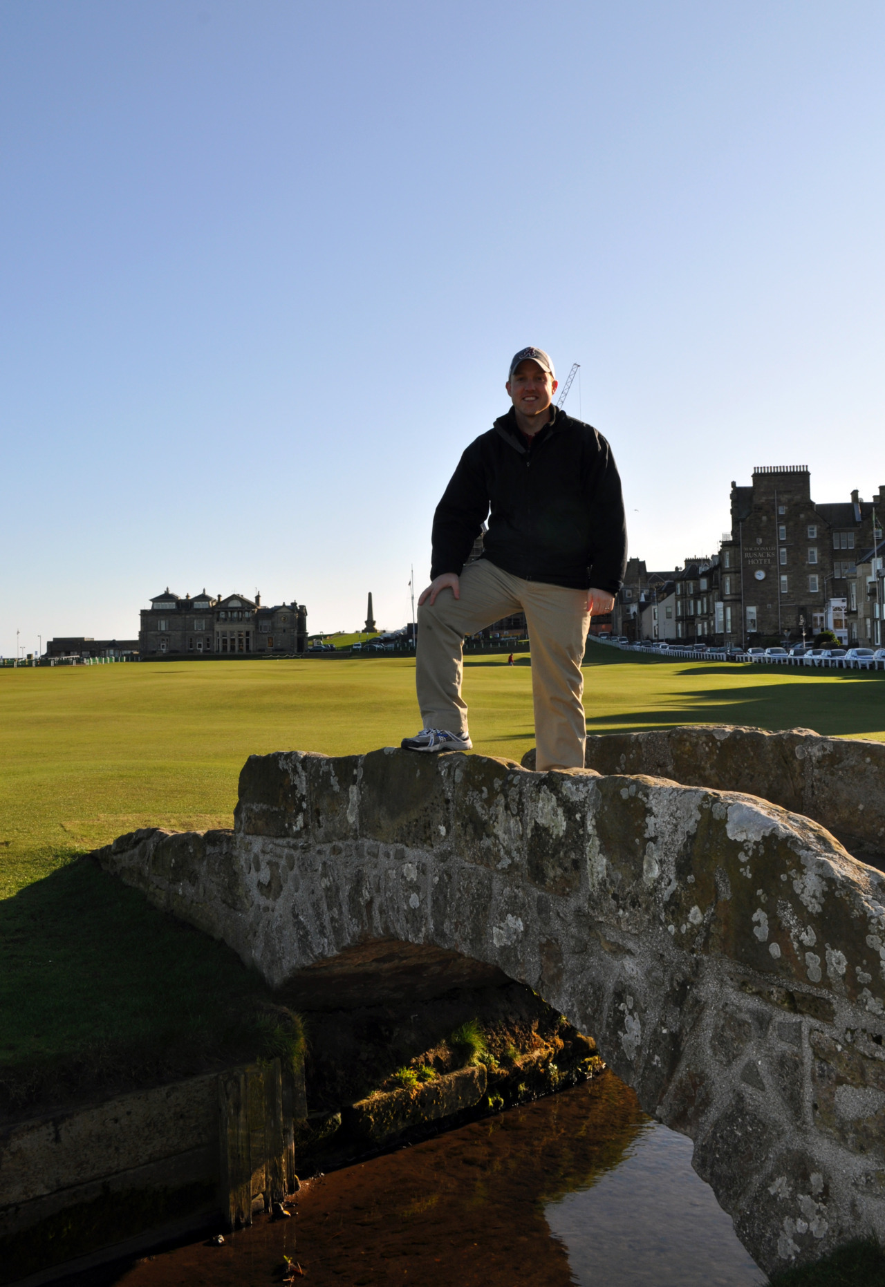 Just returned from playing golf in Scotland with my Dad.  What an amazing trip and a lot of fun playing The Old Course.  If you are a golfer, you will totally understand the significance of the trip.  If not, trust me, it is really cool.