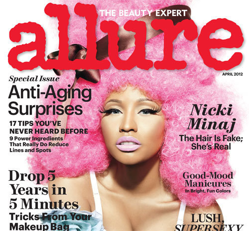 Nicki Minaj Covers Allure, April 2012