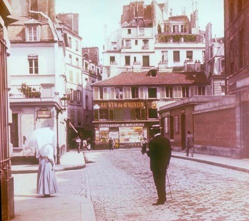 Montmartre Square, Paris, 1895.