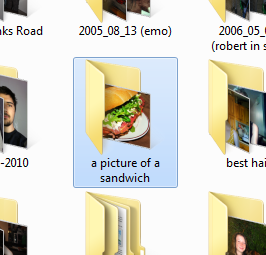 i found a folder in my external hd called 'a picture of a sandwich' i opened it and   Featured in thefunniestpost.com
