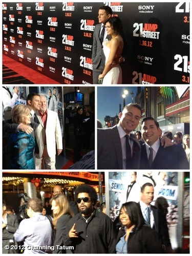 Check out a few red carpet pics from tonight's #21JumpStreet premiere! View more Channing Tatum on WhoSay