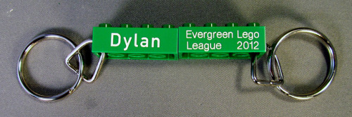 fll keyrings9 on Flickr.Engraved 2x4 Keyrings that we did for a Jr. FLL competition.