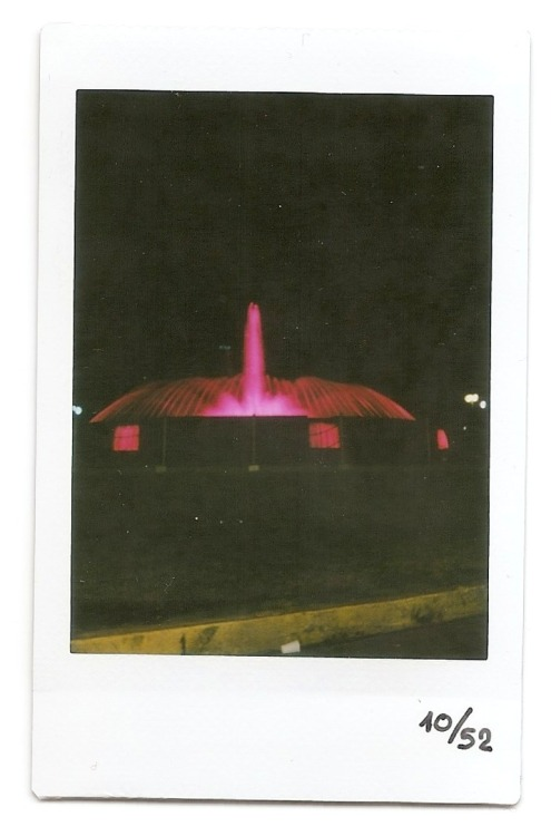 "10th instax! Took this on while I was Driven :P ""Plaza Venezuela"", Very iconic place in my hometown Caracas!"