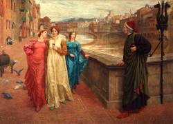 Henry Holiday - Dante and Beatrice (1883)