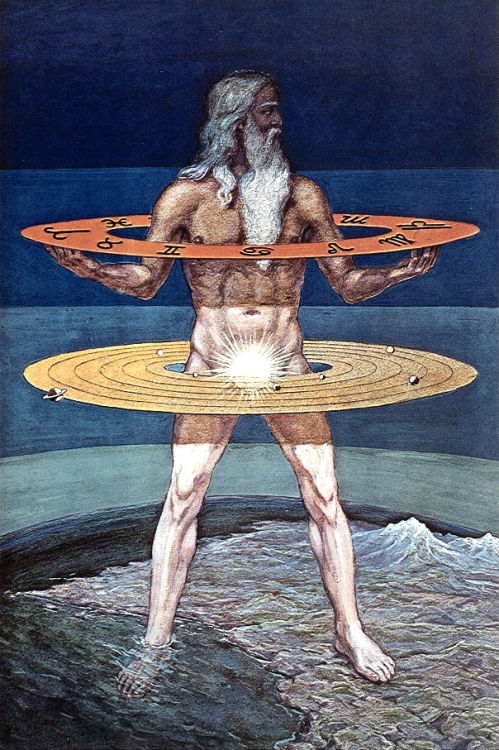 lecorpsdeshommes:  Man, Grand Symbol of the Mysteries by Manly P Hall  Sol Invictus.