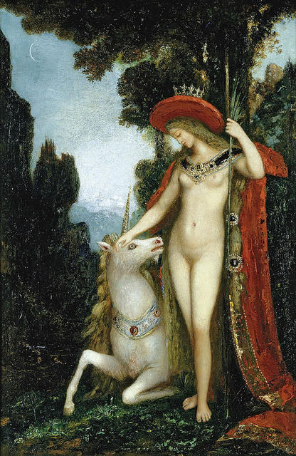 "Gustave Moreau (French, 1826-1898) ""La Licorne"" by sofi01 on Flickr."