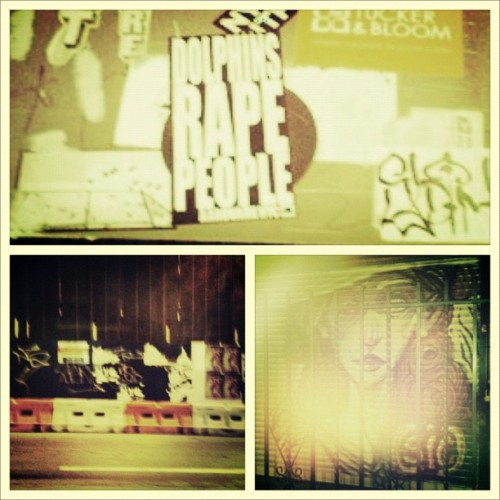 #brooklyn #streets #streetlife #graffiti (Taken with instagram)
