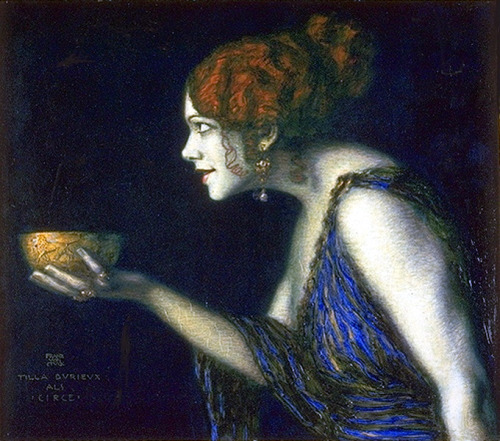illuminare-illuminoir:  Franz von Stuck - Tilla Durieux as Circe http://en.wikipedia.org/wiki/Tilla_Durieux