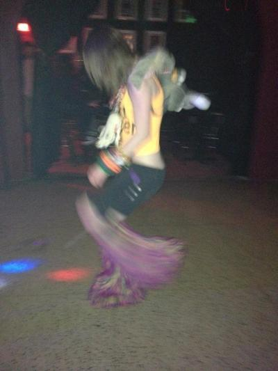 Raving Hardcore :P Sorry about the blur I don't stand still xD