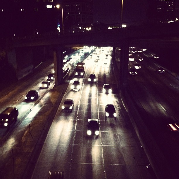Dtla traffic (Taken with instagram)