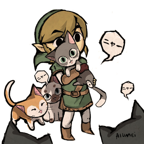 the-lovely-zelda:  i want those cats!