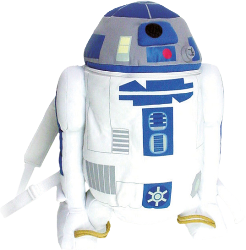 R2-D2 plush backpack…? No problem!!