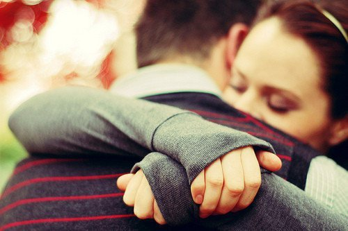 "Sometimes when I say, ""I'm okay"", I want someone to look me in the eyes, hug me, and say, ""I know you're not""."