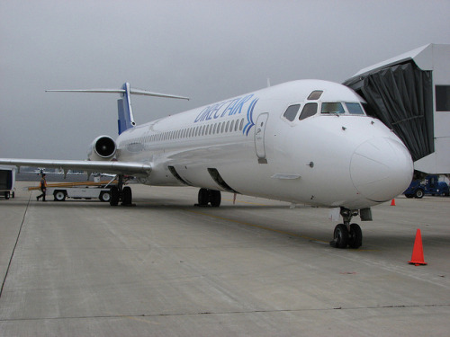 Direct Air MD80 by tolaviator on Flickr.DirectAir anticipates being back in service around May once the billing discrepancy is resolved.