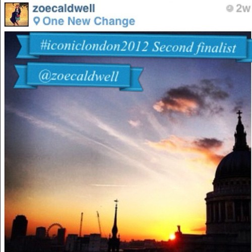 The second finalist for our #iconiclondon2012mar contest is @zoecaldwell ! (Taken with Instagram at Instagramers London HQ) Tag your entries #iconiclondon2012mar for a chance of winning an iPhone with your Instagram kindly donated by the guys at @casetagram
