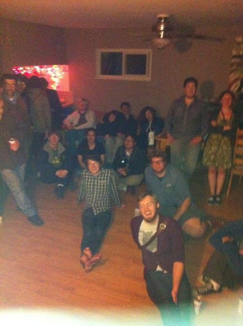 Another View From the Stage. Davis House Show.