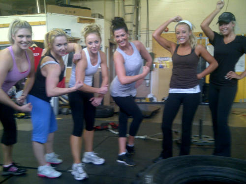 Smash Bootcamp-with Claire Rae. These girls aren't just building muscles they are building friendships.