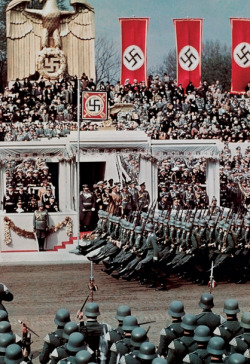 Hitler's 50th birthday celebration parade