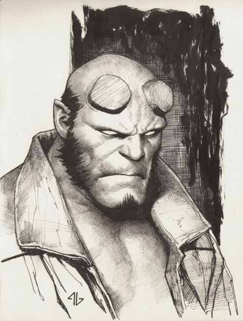 Hellboy by Adi Granov
