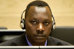 "kohenari:  The International Criminal Court has just this morning handed down it's first ever verdict, finding Thomas Lubanga guilty of conscripting child soldiers. Lubanga was the leader of the Union of Congolese Patriots and stands accused of being the military authority behind the abduction of children as young as eleven to serve the Patriotic Forces of the Liberation of Congo in the 1998-2003 war. Lubanga was handed over in 2006, the first suspect to be detained by the ICC, and has been on trial since 2009.  This guilty verdict is great for the DR Congo and wonderful for the International Criminal Court. Last year former Nuremberg prosecutor Benjamin Ferencz told ICC judges: ""Let the voice and the verdict of this esteemed global court now speak for the awakened conscience of the world."" Photo: Ed Oudenaarden/AP. [AJ English Twitter; Al Jazeera; AP] I think the last time I wrote about the ICC proceedings against Lubanga was back in 2010,  when the trial was suspended in order to ensure that proper procedures were being followed. As I wrote back then: Regardless of Lubanga's guilt (which really doesn't seem to be in much doubt), the Court is setting an important precedent here: instead of proceeding with a trial that might later be decried as sham justice, the ICC is putting its foot down now … about the fair trial standards that must be followed. The prosecution cannot keep information from the defense and it cannot flout the Court's orders, not if we're to look back on these trials and confirm that justice was done. With so much talk in the past week about Joseph Kony — another warlord indicted by the ICC for conscripting child soldiers — it's good to see the the Lubanga trial brought to a close with a guilty verdict. International justice efforts, though still slow and selective, are beginning to take a toll on the long-standing culture of impunity for human rights abuses. Of course, the only way to see more criminals in the dock is to arrest them …"